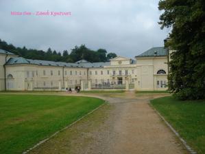 svatba byla na zámku Kynžvart