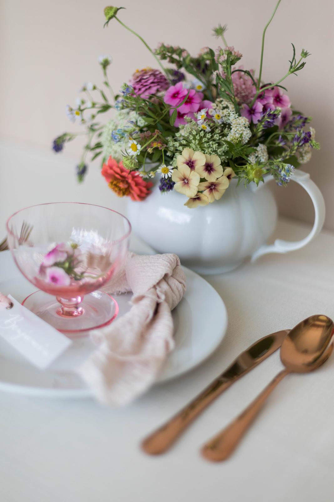 Zlato medený príbor (rose gold) - Obrázok č. 1