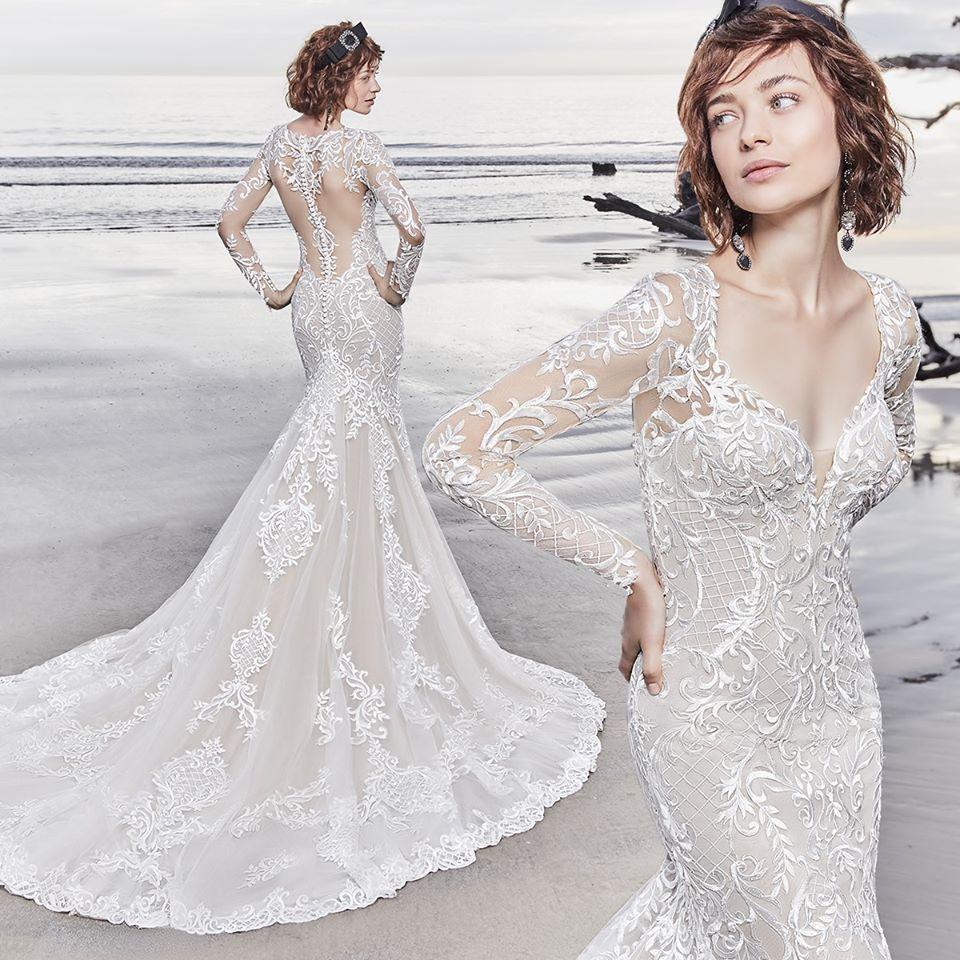 Originální šaty pro nevěsty, co se nebojí ukázat svou postavu. Přijďte si je vyzkoušet do našeho salonu. 😎👍 - Obrázek č. 1