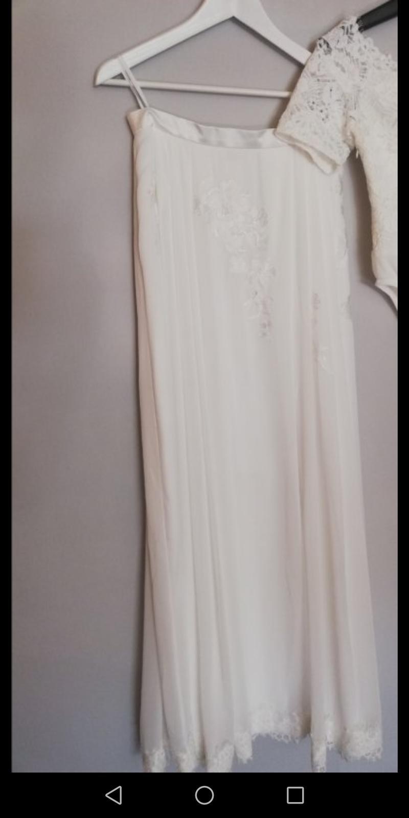 svadobná sukňa a body, veľkosť 40 - Obrázok č. 2