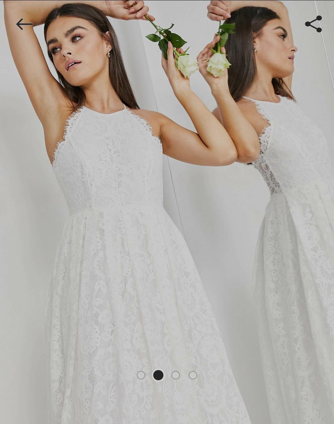 Predám nové svadobné šaty - Obrázok č. 2