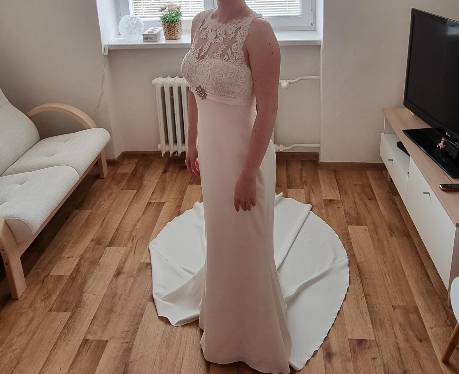 Svatební šaty St. Patrick Pronovias vel. 34 - Obrázek č. 1