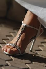 sandáločky nevestičky