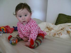 Naša Julka má 6 mesiacov