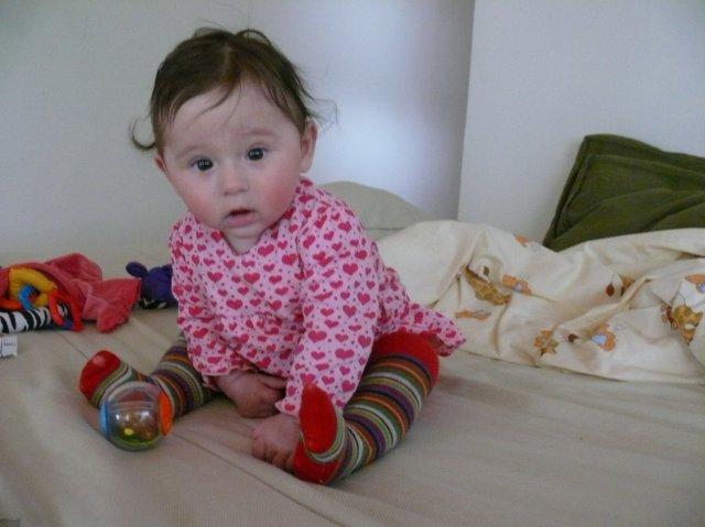 Betka{{_AND_}}Peťko - Naša Julka má 6 mesiacov