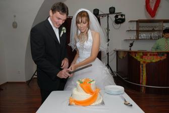 krájanie torty