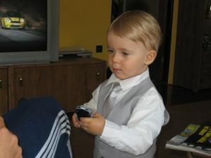 náš nádherný syn Samuel