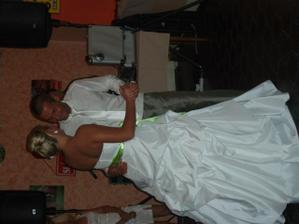 taneček s manželem :)