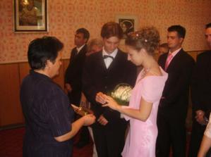 prvá svadba v úzkom rodinnom kruhu 26. 8. 2006