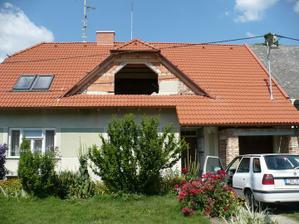 nová střecha a její celá změna