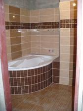 naše koupelna, na fotu čerstvě dospárovaná (: