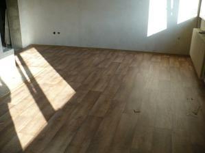 PVC podlaha v jídelně a obyváku - Novilon