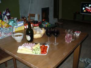 první večeře v novém (: