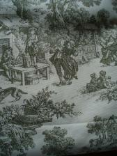 Zavesy do loznice z USA (eBay).
