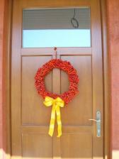...jerabinovy venec na dvere...