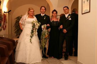 ja s bratom a Marošik so sestrou