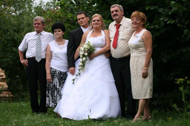 Evka Polubňáková{{_AND_}}Maroš Spielmann - my s rodičmi