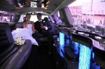 v limuzine, jak v obyvacke