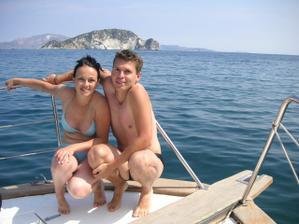 svatební cesta Zakynthos, na lodi