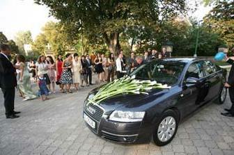 svadobne auto...