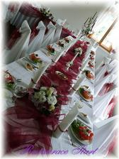 a zase dekorace stolu :-)