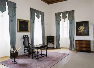 Interiéry zámku využijeme k focení