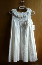 Šaty pro naše dvě malé družičky