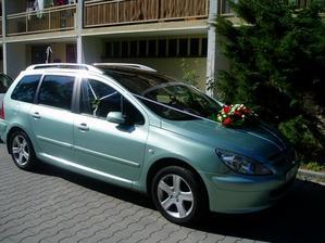 Moje svatební autíčko