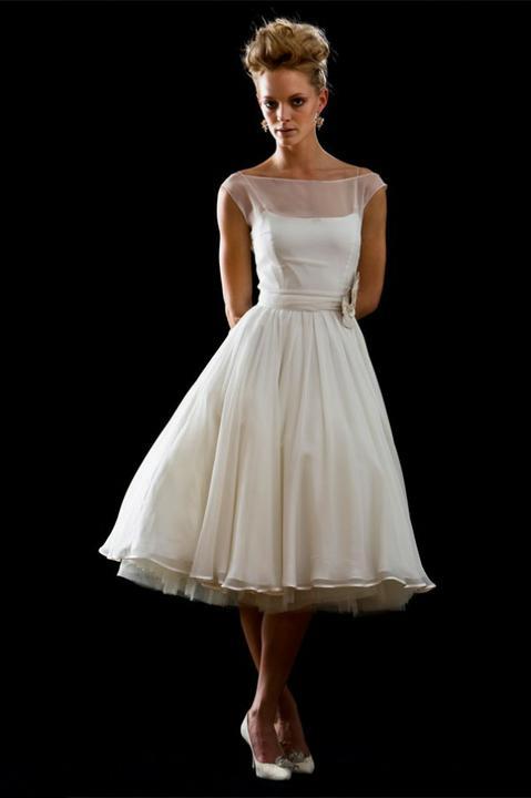 Tea lenght wedding dress ! - Obrázek č. 13