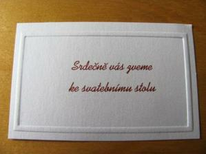 Pozvánka na hostinu...