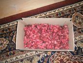 voňavé sušené kvetinové lupene,