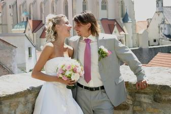 Ta svatba byla fakt sranda:-)