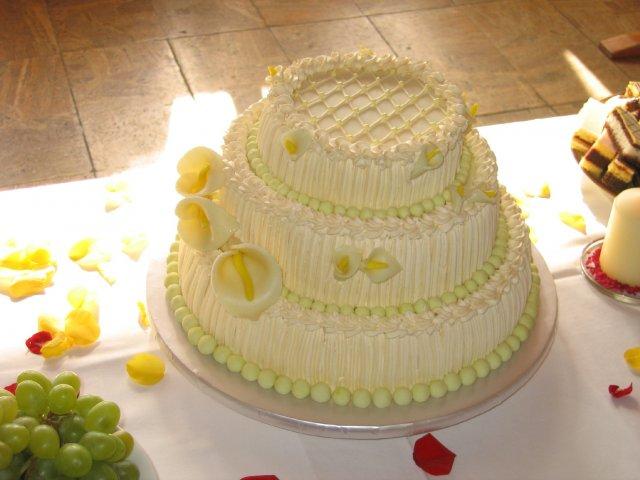 Svatební dorty album č. 2 - Třípatrový, kaly