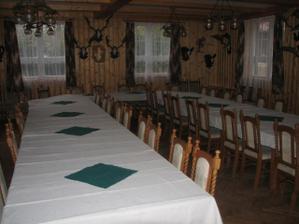 sál kde bude hostina