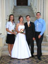 my dva a novomanželé:-)