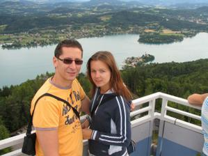 naše malá svatební cesta jezero Woerthersee