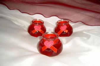 Svíčky na stůl