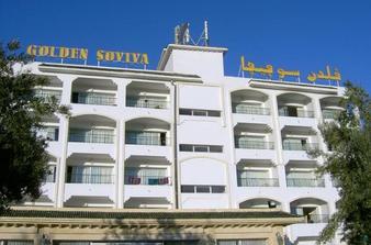 Nakonec nás ubytovali v letovisku Port El Kantaoui v hotelu Golden Soviva