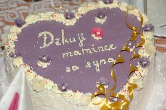 Pro maminku ženicha