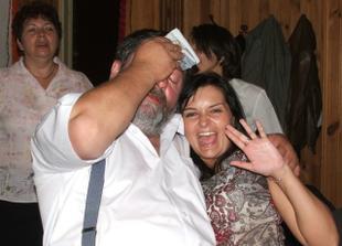 můj tatínek se Simčou
