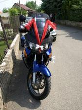 Vyzdobená motorka