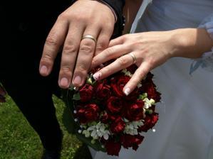 Detail kytičky a prstýnků