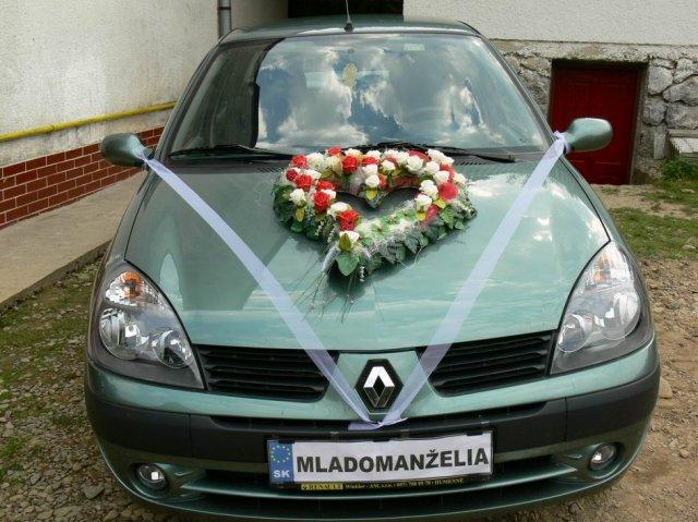 Anna Hriňová{{_AND_}}Dušan Horník - svadobné auto