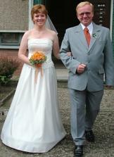 Tohle je můj táta, který byl dvakrát považován za ženicha :))