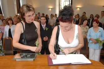 podpisy svědkyní
