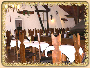 A tady uz je sal, kde budeme mit hostinu