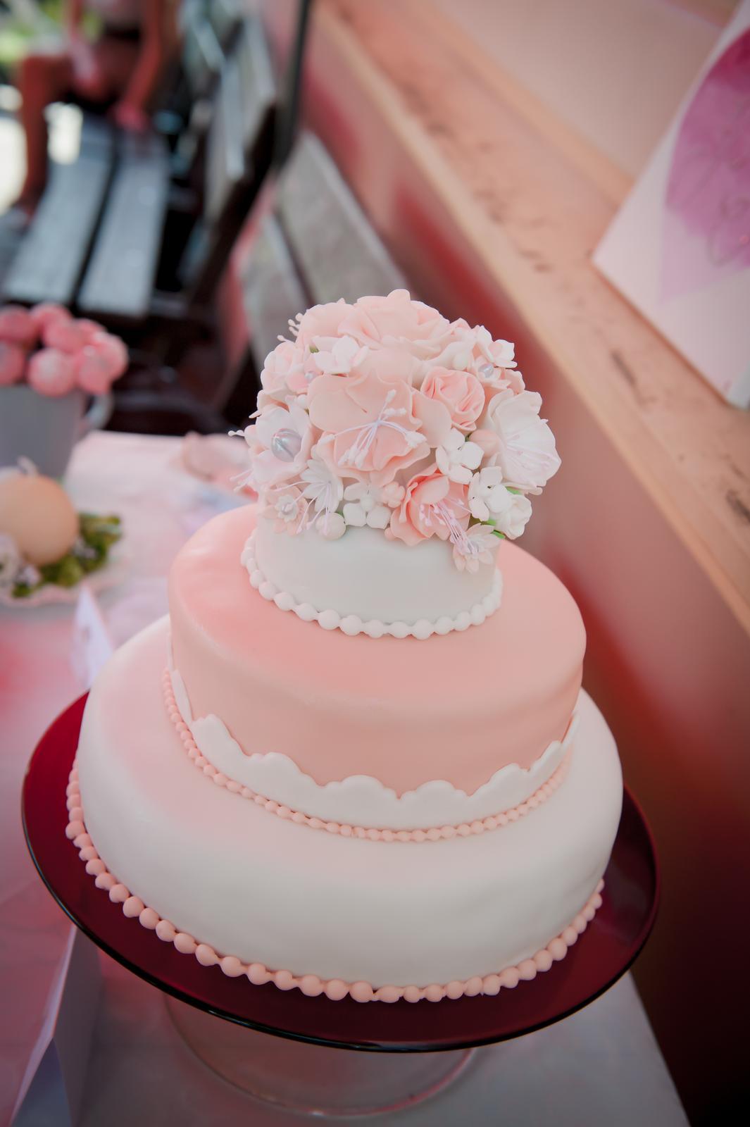 Pavla{{_AND_}}Honza - náš krásný dortík od mé milované sestřičky ♥
