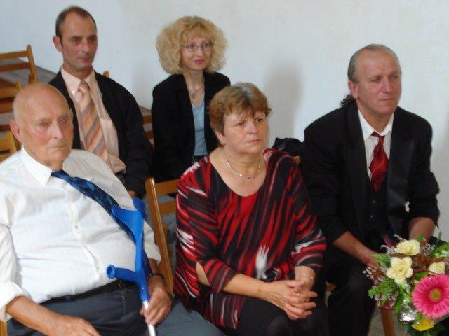 Miroslava Jirsova{{_AND_}}Markus Moor - moja mamina a ocino markusov otec a vzadu markusov brat spolu s priatelkou.