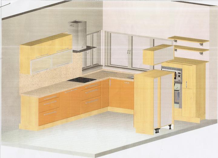 Projekt - Finalne riesenie kuchyne
