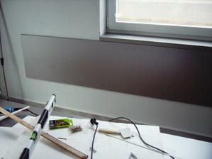 namontovala som čielko na stenu